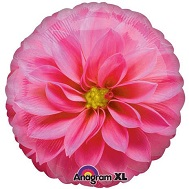 "18"" Photographic Pink Flower Balloon"