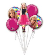 Bouquet Barbie Sparkle Balloon Packaged