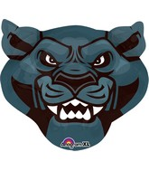 "24"" Jumbo Team Mascot Mascot Panthers Packaged"