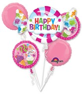 Bouquet Sweet Shop Balloon Packaged