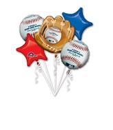 Bouquet Major League Baseball Balloon Packaged