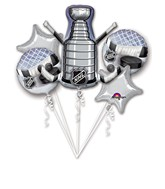 Bouquet NHL Stanley Cup Balloon Packaged