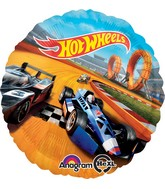 "18"" Hot Wheels Balloon"