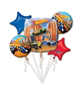 Bouquet Hot Wheels Racer Balloon Packaged