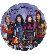 "18"" The Descendants Balloon Packaged"