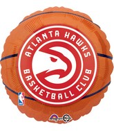 "18"" Atlanta Hawks Balloon"