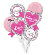 Bouquet Elegant Bride Balloon Packaged