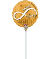 "9"" Airfill Only Infinite Love Balloon"