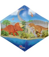 "16"" Jumbo Dino World Balloon Packaged"