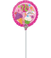 "13"" Airfill Only SweetShop Birthday Balloon"