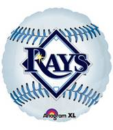 "18"" MLB Tampa Bay Rays Baseball Balloon"