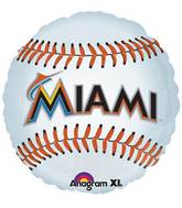 "18"" MLB Miami Marlins Baseball Balloon"