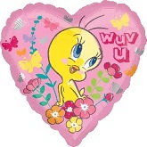 "18"" Tweety Wuv U Balloon"