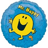"18"" Mr. Happy ""The Men Show"" Balloon"
