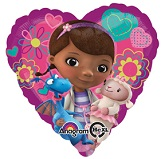"18"" Doc McStuffins Love Mylar Balloon"