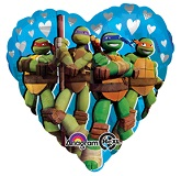 "18"" Teenage Mutant Ninja Turtles Love"