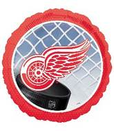 "18"" Detroit Red Wings NHL Mylar Balloon"
