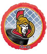 "18"" NHL Ottawa Senators Mylar Balloon"
