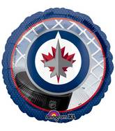 "18"" NHL Winnipeg Jets Mylar Balloon"