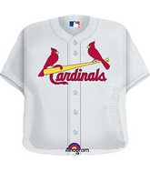 "24"" MLB St. Louis Cardinals Jersey Balloon"