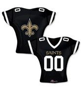 "24"" Balloon New Orleans Saints Jersey"