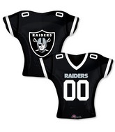 "24"" Balloon Oakland Raiders Jersey"