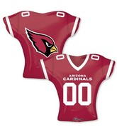 "24"" Balloon Arizona Cardinals Jersey"