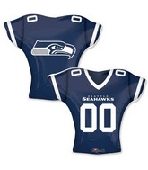 "24"" Balloon Seattle Seahawks Jersey"