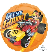 "18"" Mickey Roadster Get Set Go Balloon"
