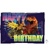 "16"" Jurassic World HBD Balloon"