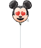 "9"" Mickey Mouse Emoji Balloon"