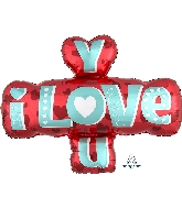 "32"" I Love You Type Balloon"