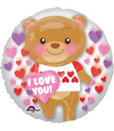 "24"" Love You Bear Balloon Insider"