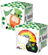 "15"" Happy St. Pat&#39s Pot of Gold Balloon"