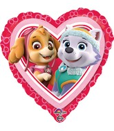 "18"" Paw Patrol Love - Girl Balloon"