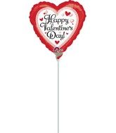 "9"" Airfill Only Happy Valentine's Day Simply Traditional"