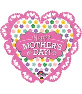 "23"" Intricates Jumbo Mother&#39s Day Pink Balloon"