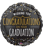 "18"" Starry Congratulations Balloon"
