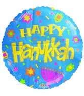 "18"" Hanukkah Party Balloon"