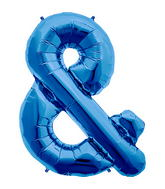 "34"" Ampersand - Blue"