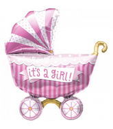 "40"" It&#39s A Girl Buggy"
