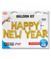 "16"" HAPPY NEW YEAR Kit - Gold 16"""