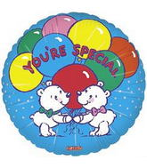 "18"" You&#39re Special Two Bears Balloon"