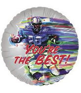 "18"" You&#39re the Best Football Balloon"