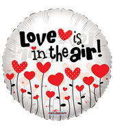"18"" Love Is In The Air Clear View"