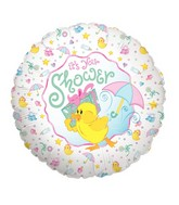 "18"" Balloon Packaged Baby Shower Duck"