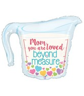 "33"" Foil Shape Balloon Mom Measuring Cup"