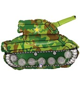 "30"" Foil Shape Balloon Army Tank"