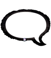 "24"" Foil Shape Balloon Writable Speech Bubble"