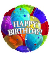 "18"" Happy Birthday Balloons Foil Balloon"